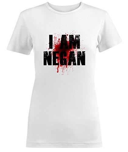 I Am Negan The Walking Dead Quote Damen T-shirt
