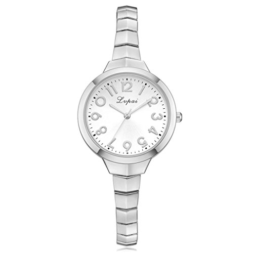 (AutumnFall Women's Watch, Womens Fashion Bracelet Stainless Steel Quartz Wrist Watch (A))