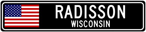 radisson-wisconsin-usa-city-flag-sign-aluminum-patriotic-sign-6x24