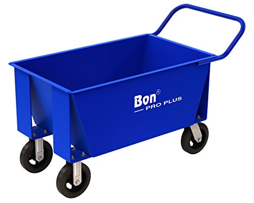 Plus Buggy - Bon 11-679  6-1/2-Cubic Foot Pro Plus Mortar Buggy with 8-inch Solid Rubber Tires