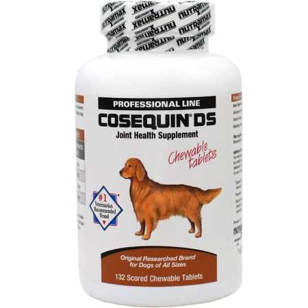 Rescue Super Strength Chewable Tablets - Nutramax Cosequin DS Double Strength Chewables, 132 Count