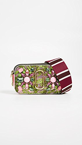 Snapshot Jacobs Floral in Camera Women's Bag Marc Green Multi Brocade wHTdEffqF