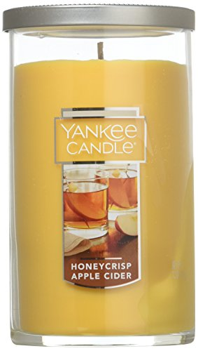Yankee Candle Medium Perfect Pillar Candle, Honeycrisp Apple Cider