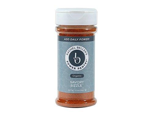 Savory Sizzle - All organic sweet Spanish paprika, granulated garlic, turmeric, cumin, black pepper, cayenne spice blend, 3.3 ounce