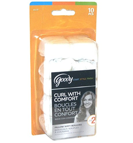 Goody - Pillow Soft Hair Rollers - Curl With Comfort (1-Pack of 10)