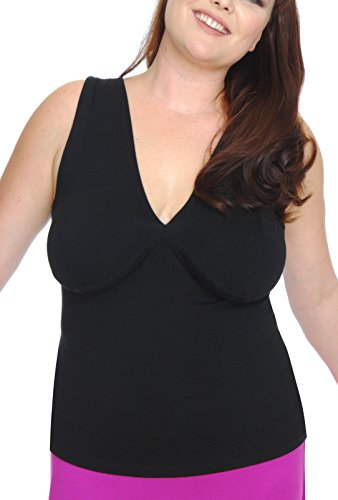Bra Cup Liner (BreastNest Bra Alternatives for Large Cup Sizes M Black)
