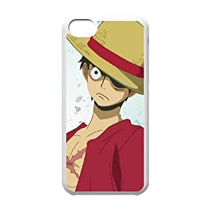 One Piece iPhone 5c Cell Phone Case White 91INA91368560