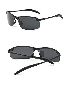 YXCCHZS Gafas De Sol Marca Clásico Polarizado Sin Montura ...