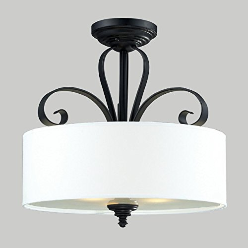 Z-Lite 2007SF Three Light Semi-Flush Mount