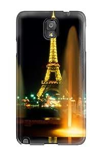 New Fashion Premium Tpu Case Cover For Galaxy Note 3 - Paris 8785463K44837036