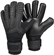 Renegade GK Vulcan Goalie Gloves with Microbe-Guard (Sizes 6-11, 4 Styles, Level 3) Pro-Tek Fingersaves &
