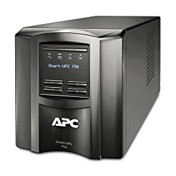 APC Smart-UPS 750VA UPS Battery Backup with Pure Sine Wave Output (SMT750)