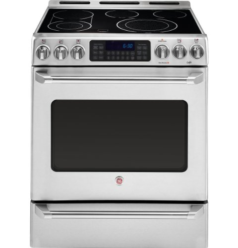 GE CS980STSS Stainless Electric Smoothtop product image