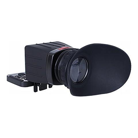 Sevenoak SK-VF02 3X LCD View Finder for Canon 5D2 5D3 Nikon D5200 D700 DSLRs (Sevenoak Viewfinder)