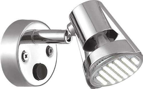 3 X Gold Stars GW21501-03 RV Reading Light MR16 Base LED Bulb 12v Chrome