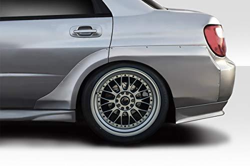 - Duraflex ED-HGX-758 Fiberglass VRS Fender Flare - Compatible for Subaru Impreza 2002-2007