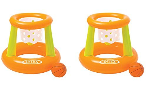 Intex Floating Hoops Basketball Game Colors May Vary - Pack of 2