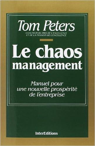 Livre gratuits Le chaos management epub pdf