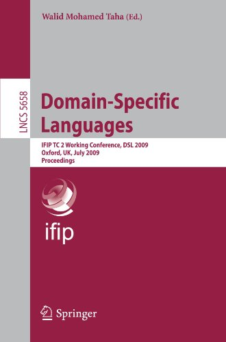 [PDF] Domain-Specific Languages Free Download   Publisher : Springer   Category : Computers & Internet   ISBN 10 : 3642030335   ISBN 13 : 9783642030338
