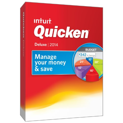 Quicken Deluxe 2014 [Old Version]