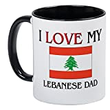 CafePress %2D I Love My Lebanese Dad Mug
