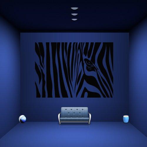 Wall Decal Zebra Animal Strips Horse Desert Texture Mural Bedroom M1073