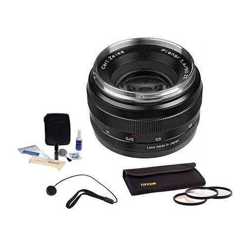 Zeiss 50mm f/1.4 Planar T* ZE Series Lens Kit for Canon EOS