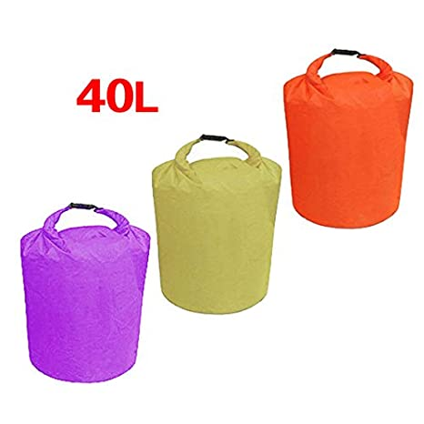 TOOGOO R Kit 40L Dry impermeable bolsa para Canoa Floating Nautica Camping Caza Kayak