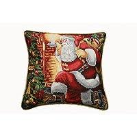 Holiday Christmas Santa Claus Design 18 X 18 C. Cover
