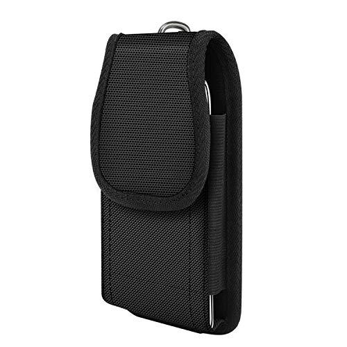 MoKo Phone Belt Clip Holster, Universal Nylon Belt Pouch Holster Cover Waist Bag Fit 6.5