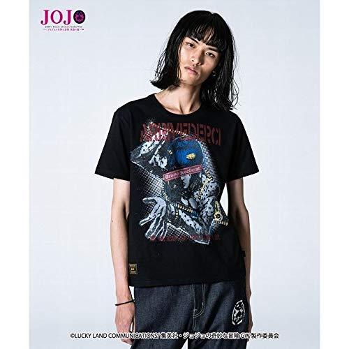 ジョジョ x glambグラム ブローノブチャラティ コラボ Tシャツ/ XLサイズ 黒/アリーデヴェルチ/BOXLOGO   B07QZXP4HY