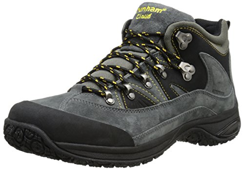 Dunham Men's Cloud Mid-Cut Waterproof Boot, Slate Black - 10.5 D(M) US