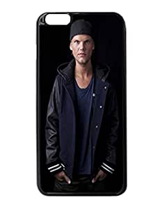 "Avicii - Custom Image Case iphone 6 -5.5 inches case , Diy Durable Hard Case Cover for iPhone 6 Plus (5.5"") , High Quality Plastic Case By Argelis-Sky, Black Case New"