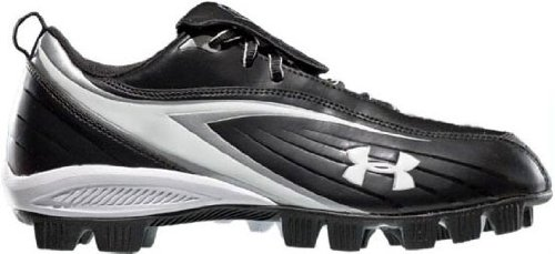 Under Armour 1210487Glyde III RM Cleat–nero/bianco