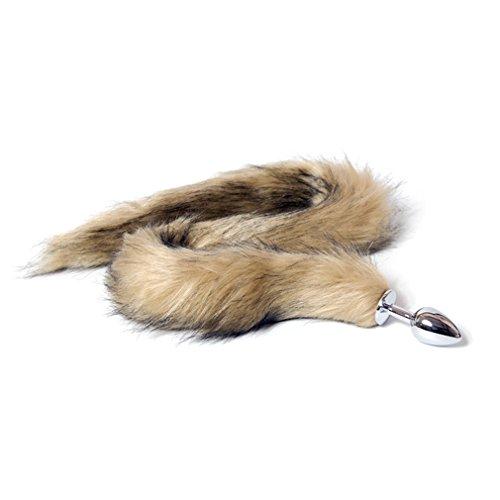 Smmvo Fox Tail Beginners Anal Plug Butt Plug For Men Best -2631