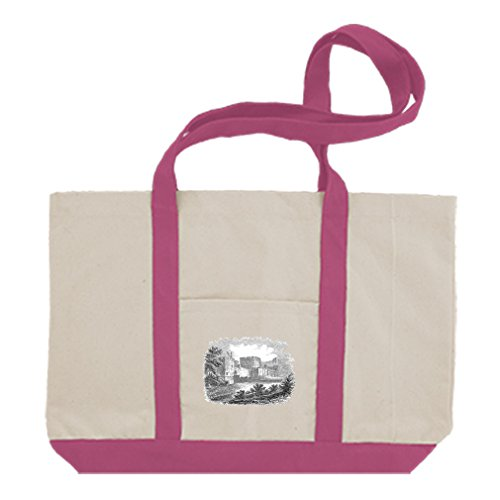 ote Bag Carlisle Castles By Style In Print | Hot Pink (Carlisle Castle)