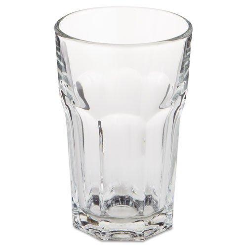 LIB15237 Gibraltar Glass Tumblers, Beverage, 10 oz, 4 3/4quot; Tall