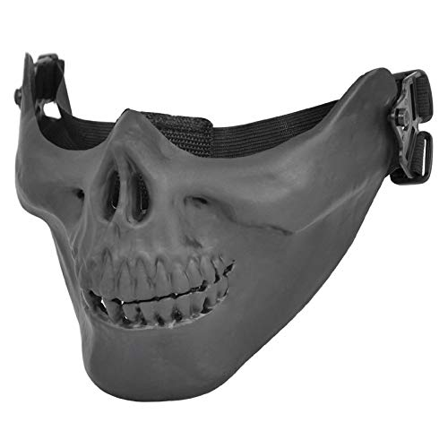 Party Masks - Phfu Uk Airsoft Mask Skull Skeleton Paintball Half Face Protect - Superhero Headbands Bulk Women Capes Masks Gold Stick Couples Masquerade Kids Pack Dinosaur Glasses Wear Party Mal ()