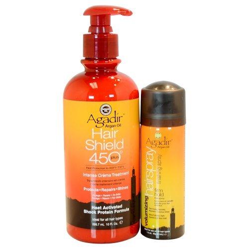 Agadir Hair Shield 450 plus Intense Creme Treatment - 10 Fl.