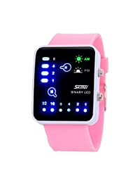 Gosasa Fashion Brand Ladies Binary LED Digital Watch Student Sports Watches 30m Waterproof