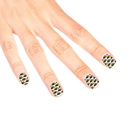Southern Mississippi Golden Eagles Game Day Nail Decals (14 Total Strips)