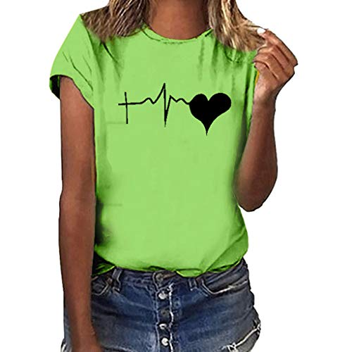 - 40th Birthday Gifts for Women Workout Clothes for Women Tank Tops for Women Shirts for Women T-Shirts for Women Green