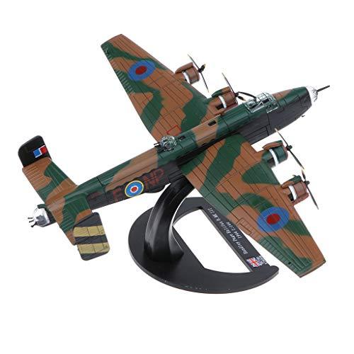 ed82ae44 Homyl 1/144 Alloy Diecast Warplane Model - British Handley Page Halifax B  Mk III