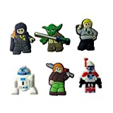 Lego Movie Shoe Charms 6 Pcs Set #10