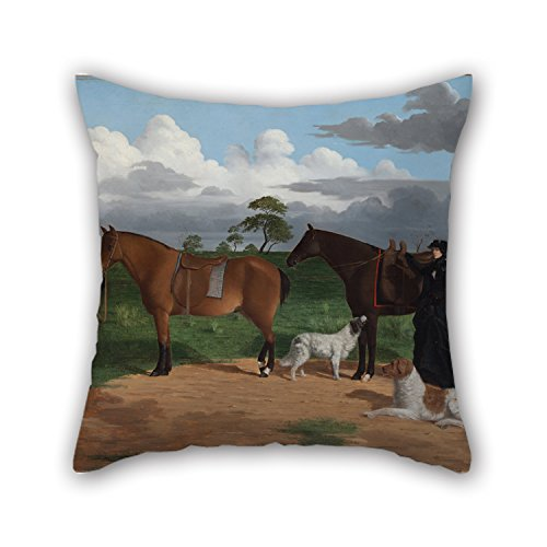 slimmingpiggy-cushion-cases-of-oil-painting-robert-dowling-mrs-adolphus-sceales-with-black-jimmie-on