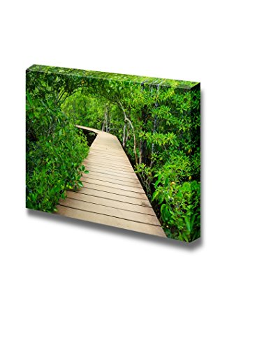 Wooden Bridge to the Jungle Tha Pom Mangrove Forest Krabi Thailand Home Deoration Wall Decor ing