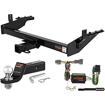 Amazon.com: CURT Class 3 Trailer Hitch Tow Package with 2 ...