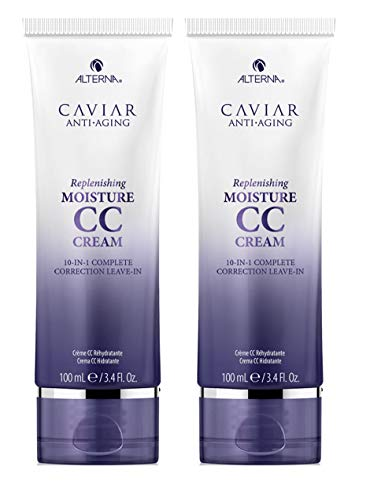 CAVIAR Anti-Aging Replenishing Moisture CC Cream, 3.4-Ounce (2-Pack)
