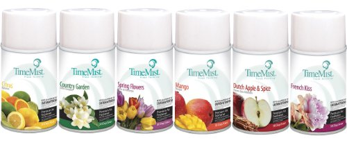 TimeMist Metered Air Freshener Refills, Assorted Frangrances