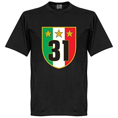 Juventus 31 Campione T-Shirt - schwarz